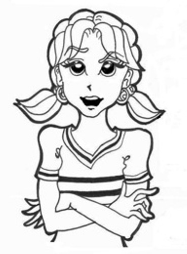 10 facts about rachel renee russell facts of world for Dork diaries coloring pages online