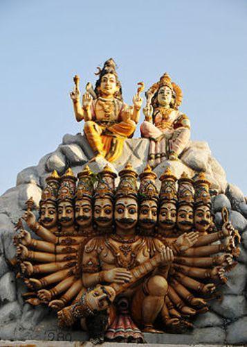 ravana statue