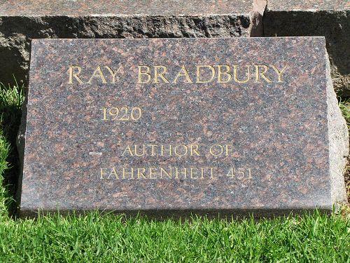 Ray Bradbury Headstone