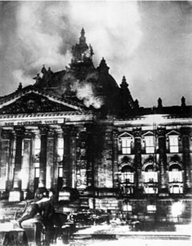 Reichstag Fire Pic