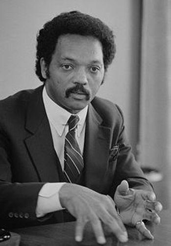 Rev Jesse Jackson 1983