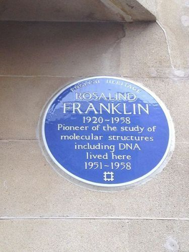 Rosalind Franklin Plaque