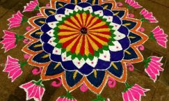 facts about rangoli