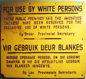 racism in south africa facts