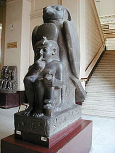 ramesses ii as child