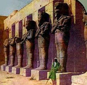 ramesses iii statues