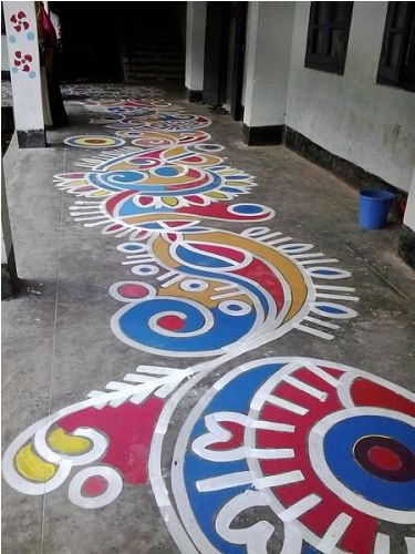rangoli facts