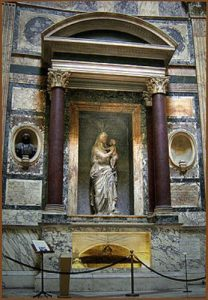 raphael and maria bibbienas tomb