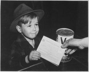 rationing children