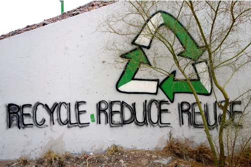 Reduce Reuse Recycle Image
