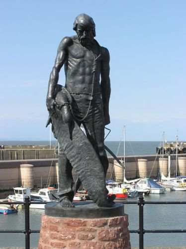Rime of the Ancient Mariner Statue