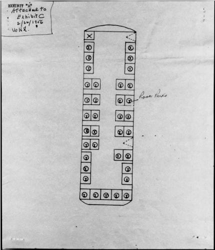 Rosa Parks Bus Diagram