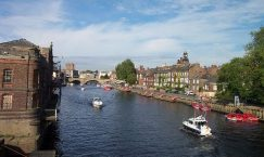 the River Ouse in York