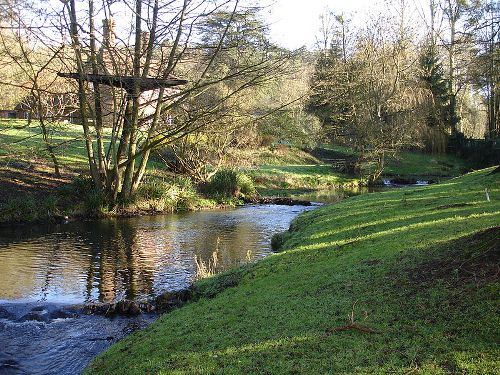 the River Tillingbourne