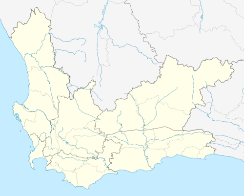 Robben Island Map