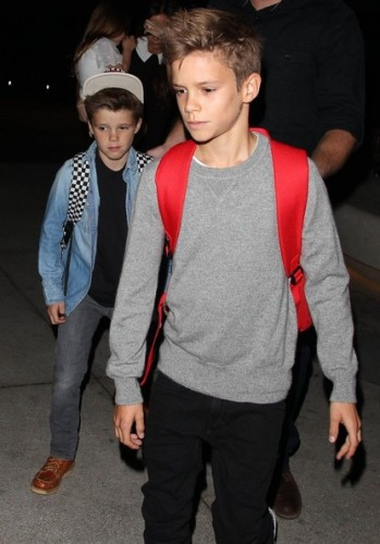 Facts about Romeo Beckham