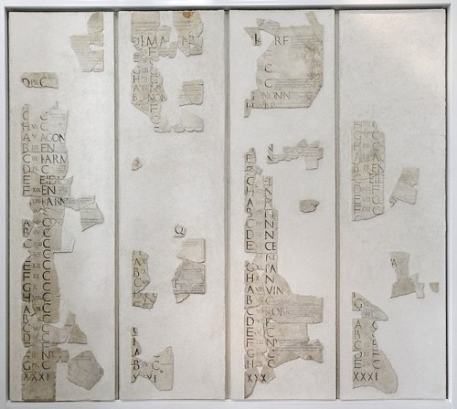 Facts about The Roman Calendars