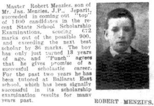 Robert Menzies 13 years