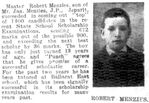 Robert Menzies 13 years
