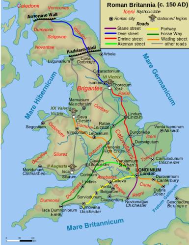 Roman Britain Roads