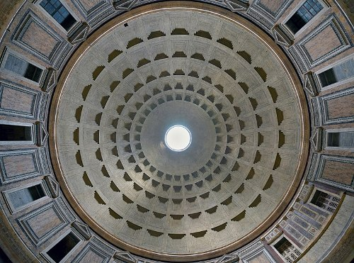 The Roman Pantheon Dome