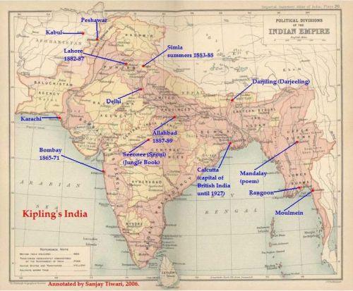 Rudyard Kipling India