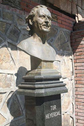 Thor Heyerdahl Bust